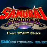Samurai Shodown Warriors Rage (PSX)