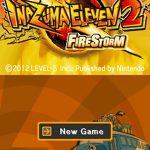 Inazuma Eleven 2 Firestorm NDS Rom