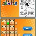 Jumble Madness NDS Rom