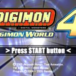 Digimon World 4 PS2 ISO
