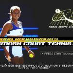 Anna Kournikovas Smash Court Tennis PS1 ISO