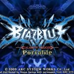 Blazblue Calamity Trigger Portable PSP ISO