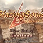 Blazing Souls Accelate PSP ISO