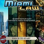 Miami Law NDS Rom