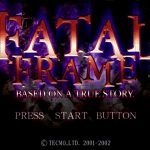 Fatal Frame PS2 ISO