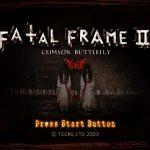 Fatal Frame 2 Crimson Butterfly PS2 ISO