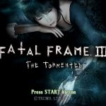 Fatal Frame 3 The Tormented PS2 ISO