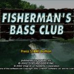 Fishermans Bass Club PS2 ISO