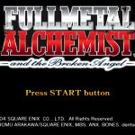 Fullmetal Alchemist and The Broken Angel PS2 ISO