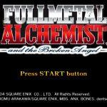 Fullmetal Alchemist and The Broken Angel PS2 ISO