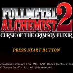 Fullmetal Alchemist 2 Curse of The Crimson Elixir PS2 ISO
