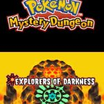 Pokemon Mystery Dungeon Explorers of Darkness NDS Rom