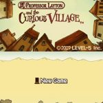 Professor layton and The Curious Village NDS Rom