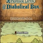 Professor Layton and The Diabolical Box NDS Rom