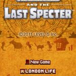 Professor Layton and The Last Specter NDS Rom