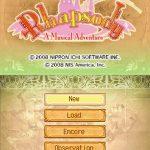 Rhapsody a Musical Adventure NDS Rom