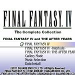 Final Fantasy 4 The Complete Collection PSP ISO