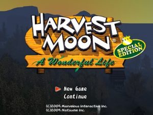 Harvest Moon a Wonderful Life Special Edition PS2 ISO - Download