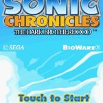 Sonic Chronicles The Dark Brotherhood NDS Rom