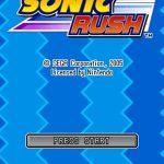 Sonic Rush NDS Rom