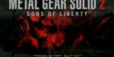 Metal Gear Solid 2 Sons of Liberty PS2 ISO