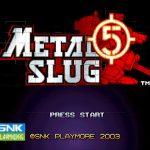 Metal Slug 5 PS2 ISO