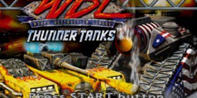 WDL Thunder Tanks PS1 ISO