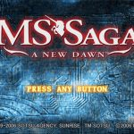 MS Saga a New Dawn PS2 ISO