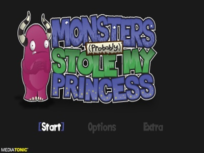 Monster Probably Stole My Princess PSP ISO