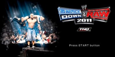 WWE Smackdown Vs Raw 2011 PS2 ISO