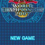Yu Gi Oh World Championship 2007 NDS Rom