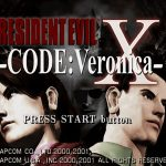 R.E Code Veronica X PS2 ISO