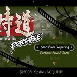 Samurai Dou Portable English Patch PSP ISO