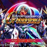 SD Gundam G Generation Overworld English Patch PSP ISO