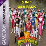 5 IN 1 GBA Collection Series : Power Rangers !!