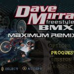 Dave Mirra Freestyle BMX Maximum Remix PS1 ISO