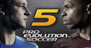 pes 5 PS2 Main Menu