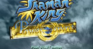 shaman king ps2 menu