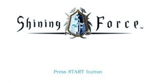 shining force neo ps2 menu