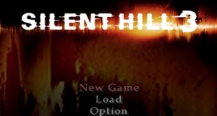 silent hill 3 ps2 game menu