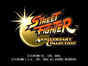 Street Fighter Anniversary Collection PS2 ISO - Download Game PS1
