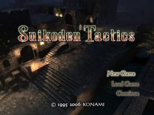 Customize your squad members too engage inward strategical fight Suikoden Tactics PS2 ISO