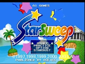 is a novel form of puzzle game amongst quick chain reactions  Puzzle Star Sweep PS1 ISO