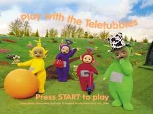 Play With Teletubbies PS1 ISO - Download Game PS1 PSP Roms