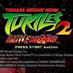 Teenage Mutant Ninja Turtles 2 Battle Nexus PS2 ISO