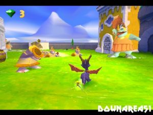 Spyro Year of The Dragon PS1 ISO - Download Game PS1 PSP