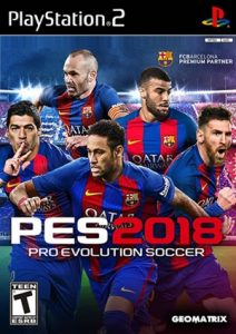 Pro Evolution Soccer 2018 PS2 ISO - Download Game Roms Isos