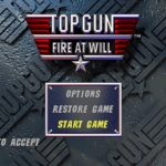 Top Gun Fire at Will PS1 ISO