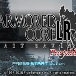 Armored Core Last Raven Portable PSP ISO