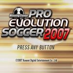 Winning Eleven Pro Evolution Soccer 2007 PSP ISO